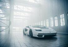 Nové Lamborghini Countach